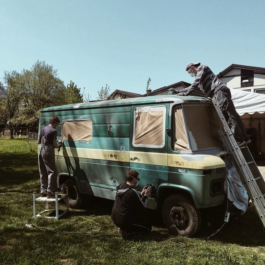 Predelava vozila za rally seos afrika